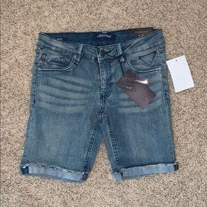 Vigoss Girls Jean Bermuda Shorts